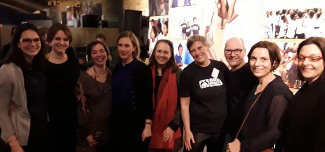 Boxgirls Vernissage zum Frauentag in der Sagers Kaffeerösterei