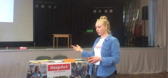 RespAct Workshop beim Fachtag Respekt der regionalen Weiterbildung Verbund drei